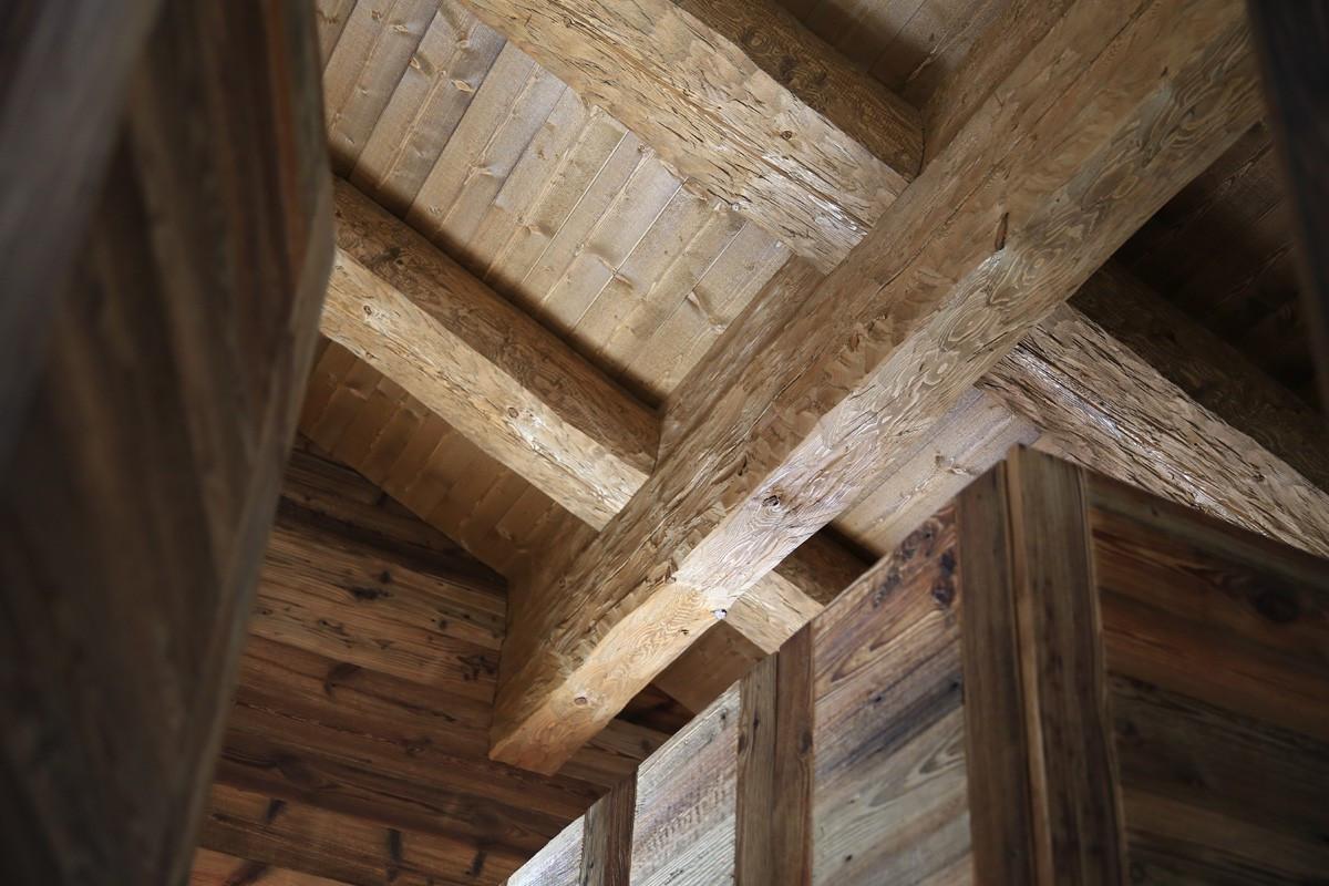 Chalet bois, Nendaz - Charpente bois sur mesure