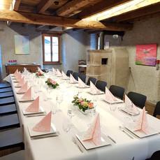 Un mariage au Moulin Semblanet, à Martig