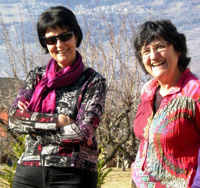 Rose-Marie et Françoise