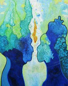 christine-jolly-christinejolly-art-paris-artiste-peintre-dessin-spiritualité-L'union sacrée
