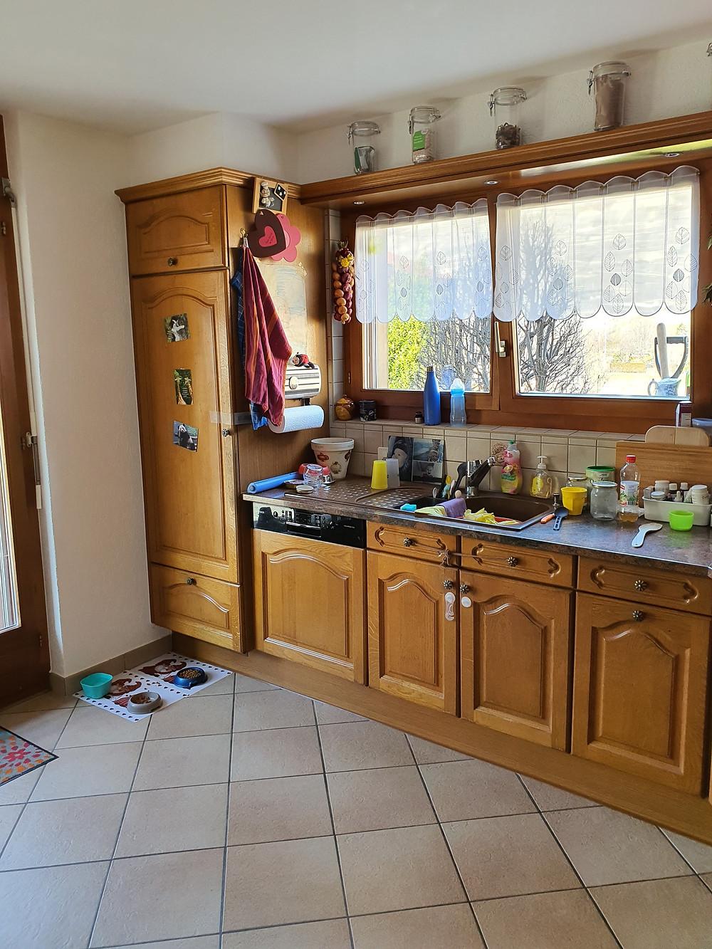 rénover cuisine en Valais - Nendaz, Sion, Sierre, Romandie - Menuiserie Glassey Fournier