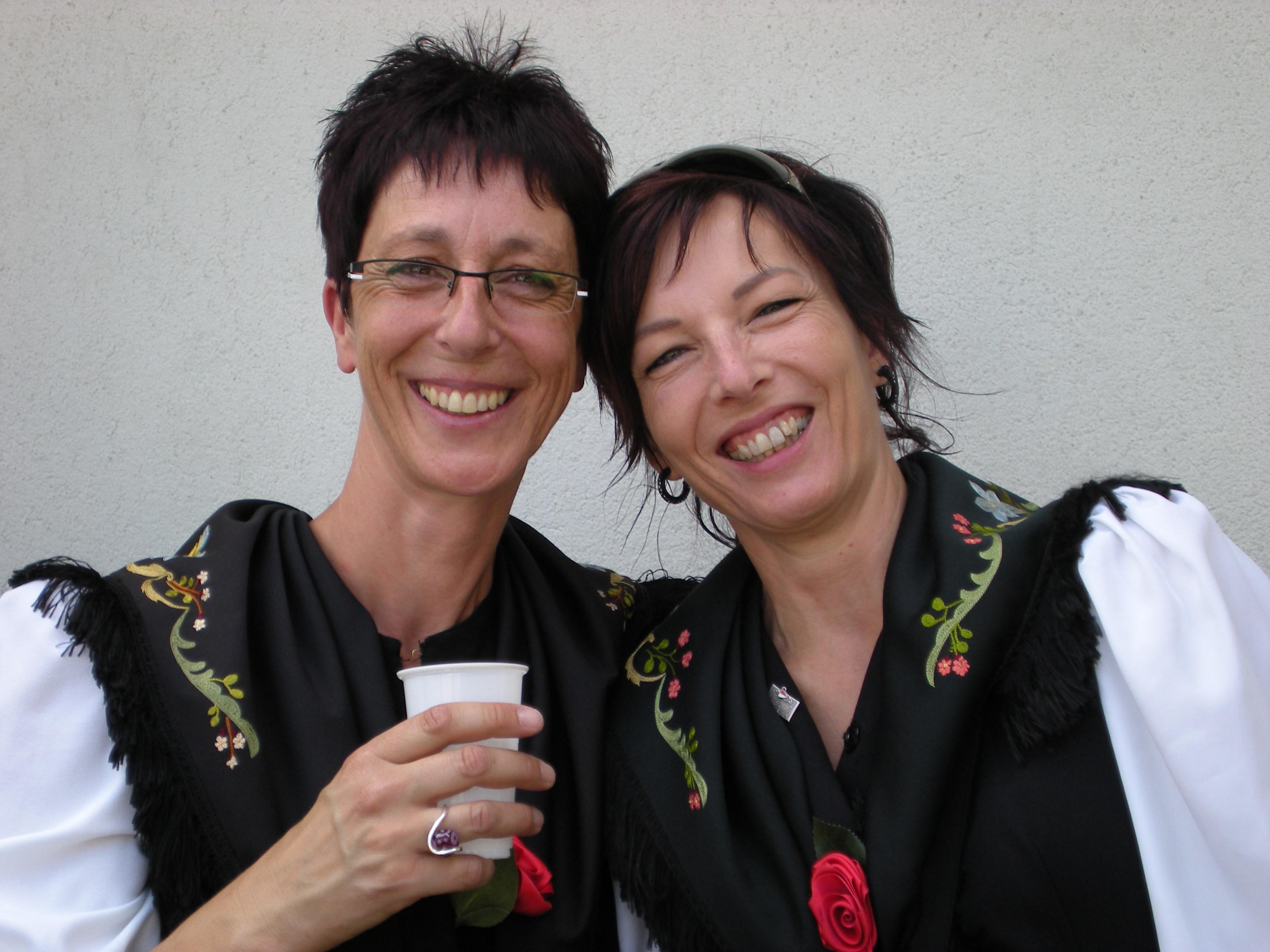 Cathy et Pake