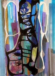 christine-jolly-christinejolly-art-paris-artiste-peintre-dessin-spiritualité-illusion que l'amour m'a quitté