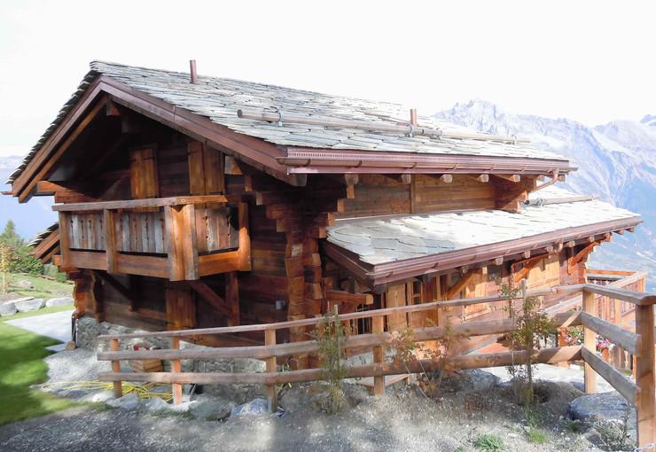 Maison ossature bois - Menuiserie Valais