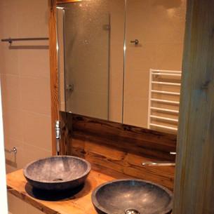 Meuble de salle de bain avec double vasque