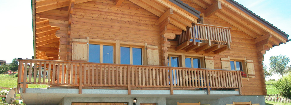Construction maison en bois sur mesure