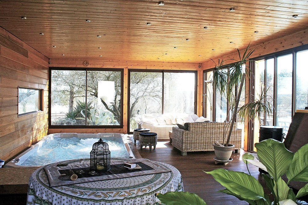 veranda spa, valais, glassey&fournier