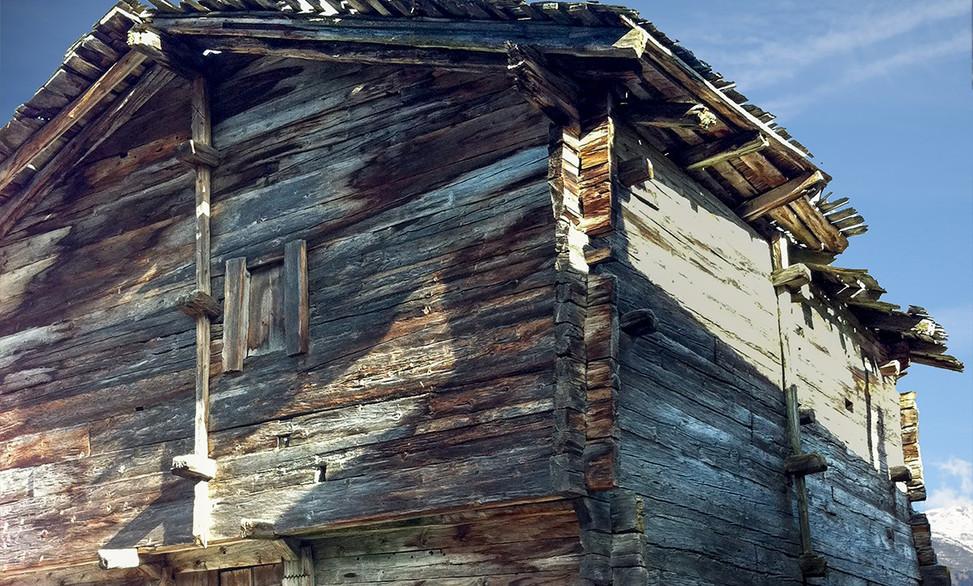 Rénovation Mayen - Menuiserie Valais, Suisse