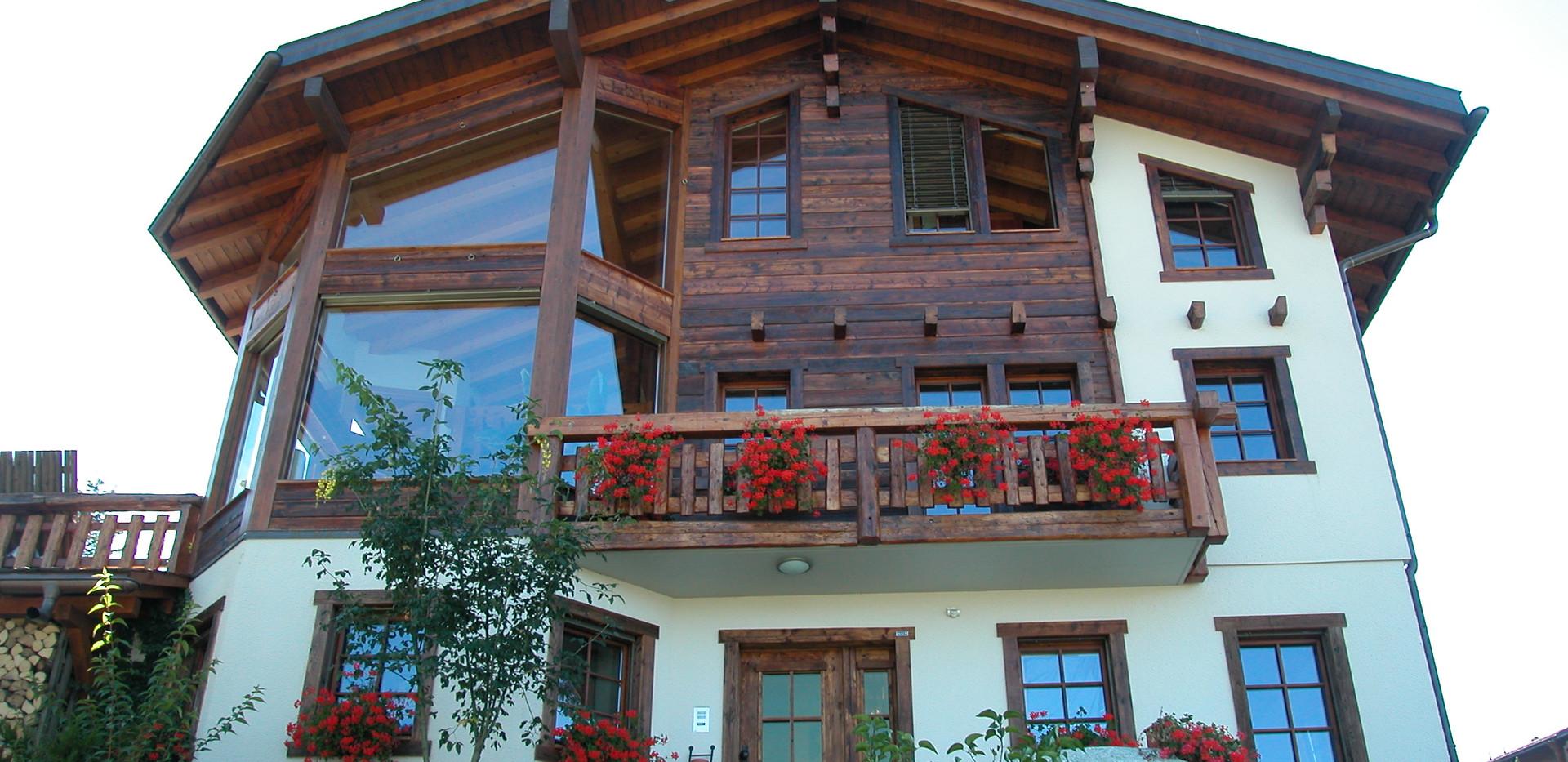 Construction maison bois classique