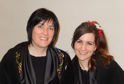 Natacha et Anne-Catherine