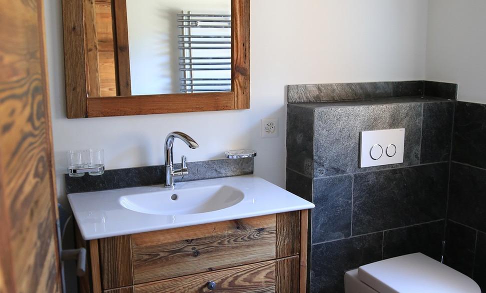Amenagement intérieur, salle de bain - rustique