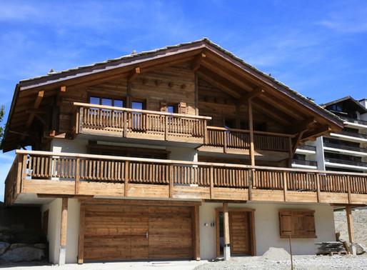 Un Chalet en bois rustique à  Nendaz en Valais