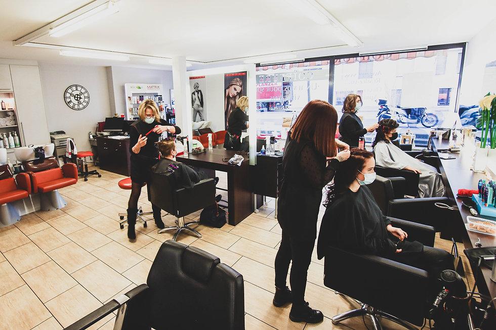 salon de coiffure un temps pour soi, Sion