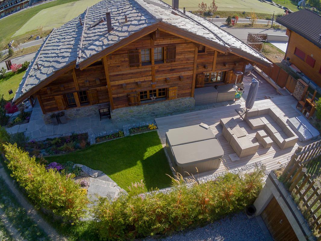 Construction maison bois - Valais