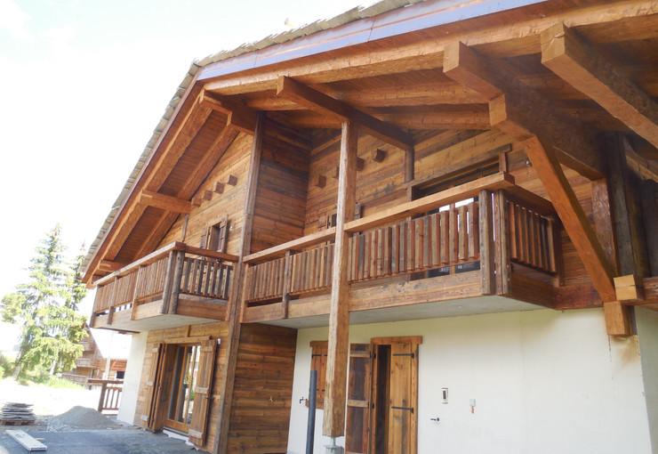 Construction chalet bois - Valais Suisse