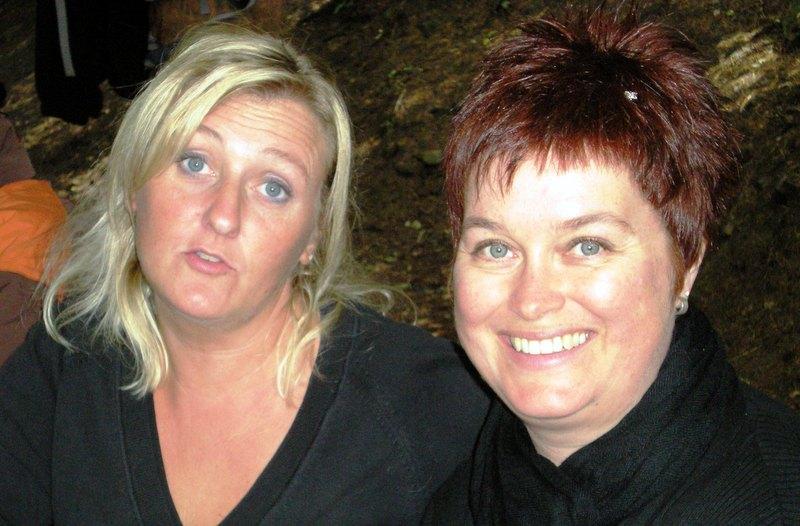 Anne-Françoise et Corinne