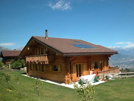 glassey fournier - maison ossature bois
