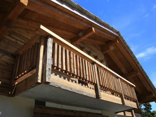 Construire, rénover le bois Rustique
