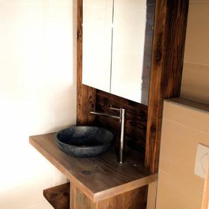 Meuble de salle de bain, simple et élégant