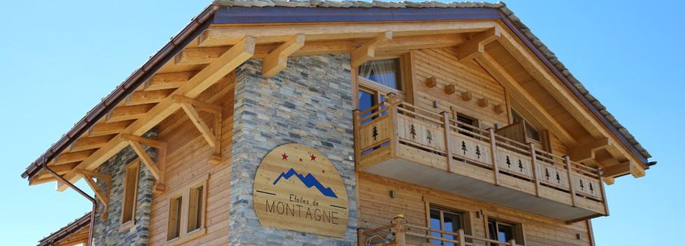 Construction Maison bois - Valais, suisse