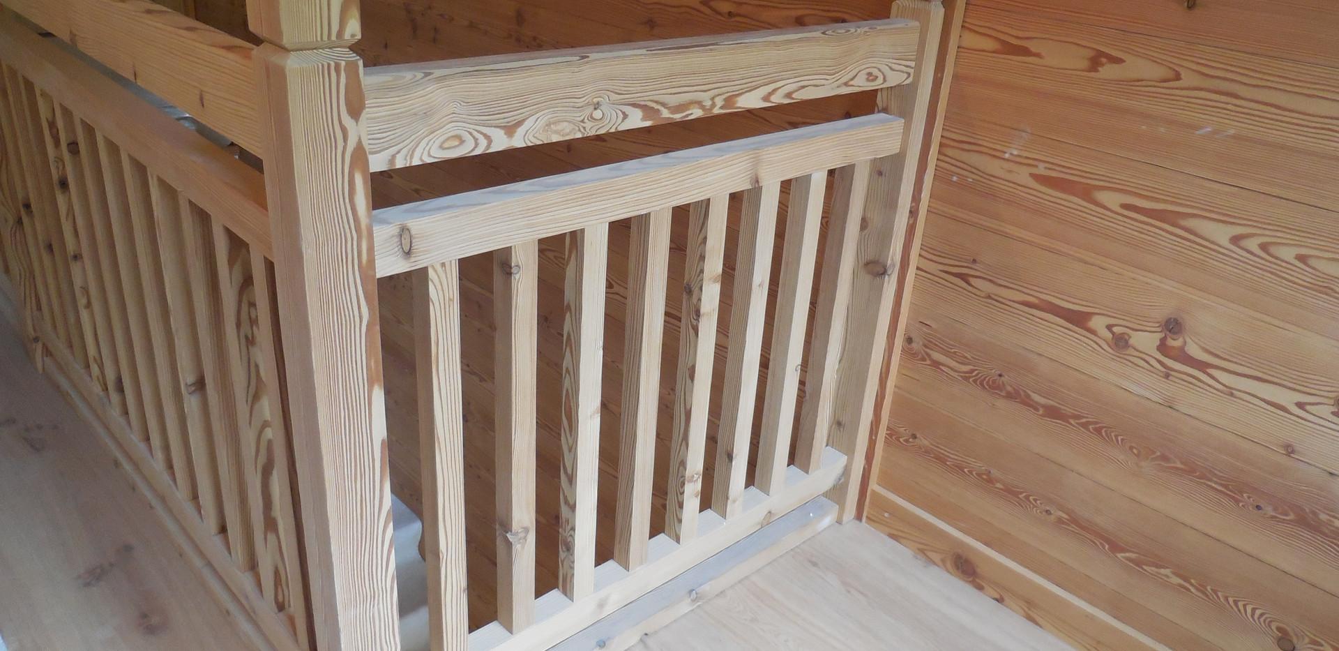 Escalier Bois sur mesure - Menuiserie