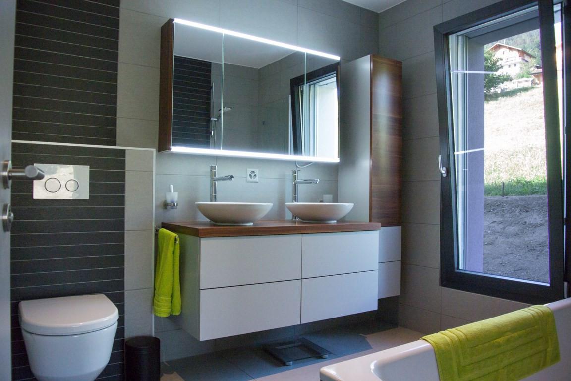 Amenagement intérieur, salle de bain - contemporain