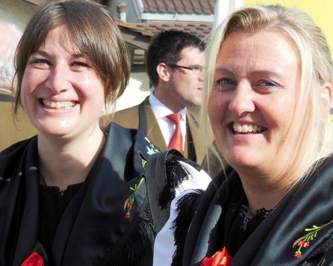 Denise et Anne-Françoise