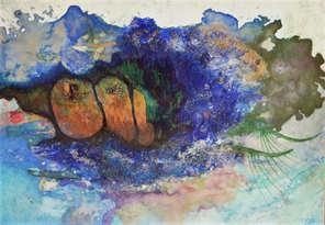 christine-jolly-christinejolly-art-paris-artiste-peintre-dessin-spiritualité-Beneath the surface
