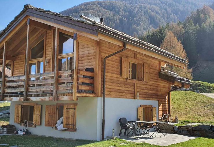 construction maison valais - ossature bo