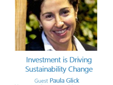 Podcast: Investment is Driving Sustainability Change