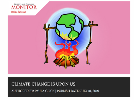 Climate Change is Upon Us