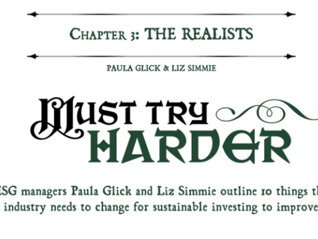 Must Try Harder - Citywire's The Book of ESG