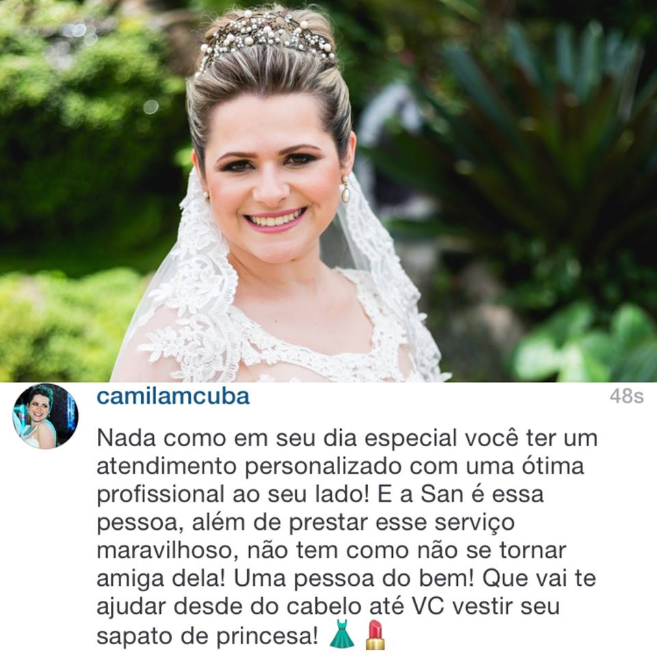 Noiva Camila Cuba