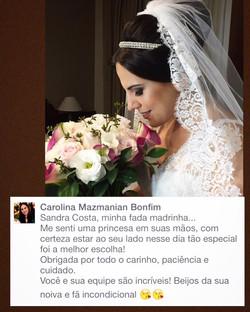 Noiva Carol Mazmanian