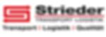 Strieder Spedition Logo TRANSPORT LOGIST