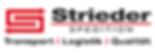 Strieder Spedition Logo SPEDITION schwar