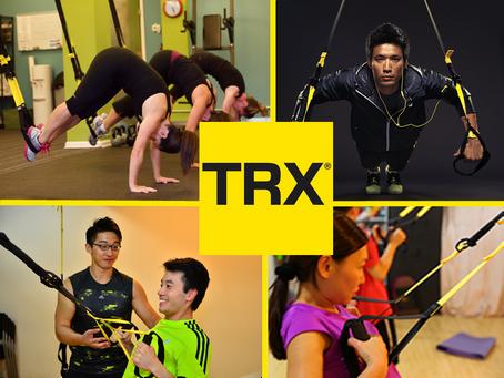 TRX:隨時隨地,簡單有效的運動
