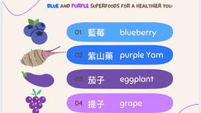 《彩虹飲食法》-藍色