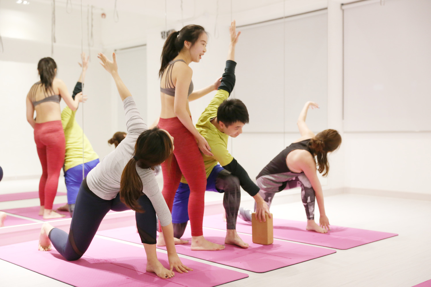 Yoga class in Quarry Bay