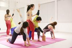 Yoga class in Quarry Bay