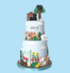Throw🔙 to my son's Hairy Maclary cake I