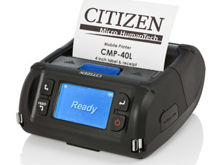 New Citizen CMP40 from Code Red - Four inch mobile printing for anywhere and anyone