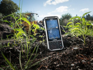 Handheld Nautiz X8 - leading the way in rugged mobile solutions....