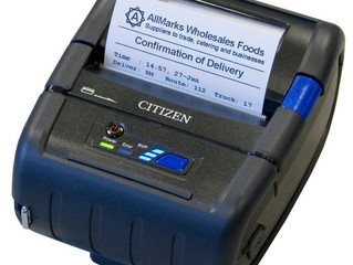 Portable Label & Receipt Printing doesn't start at Z - it starts with Citizen!