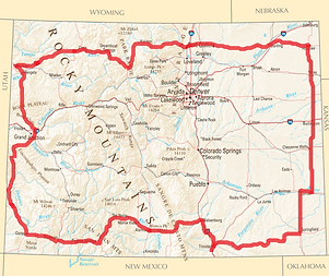 colorado_reference_map with driving rout