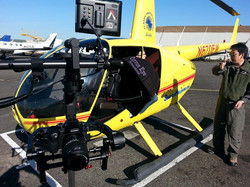 Filming from a helicopter with Ronin