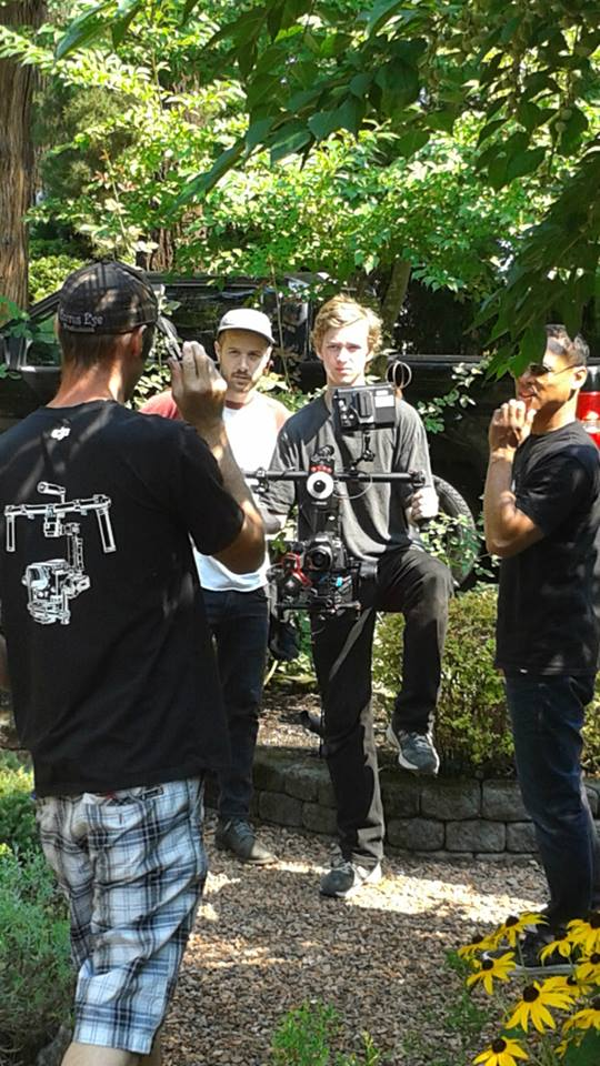 Ronin on set of a feature film