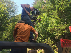 Ronin work on a Jeep shoot