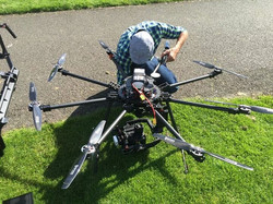 Flying the Red Epic with our Kraken