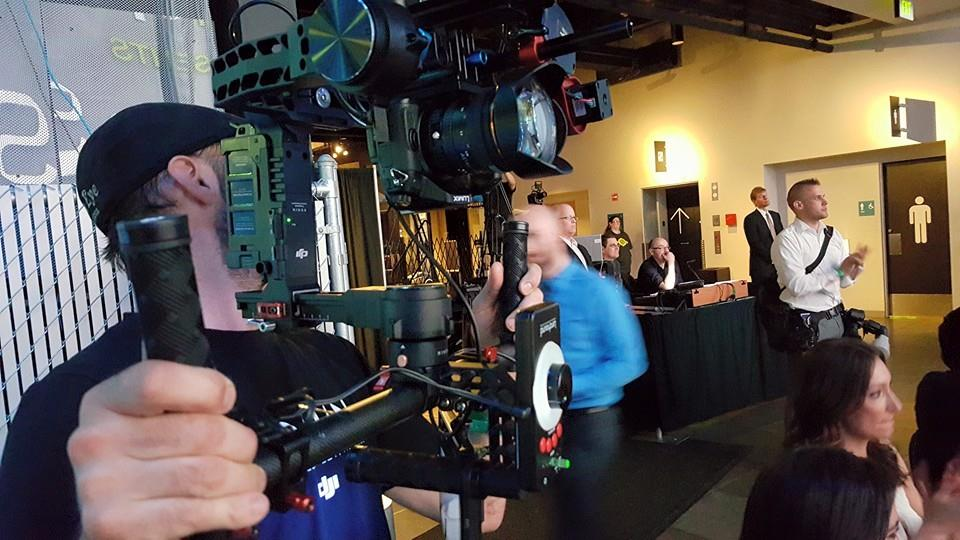 On Set with the DJI Ronin